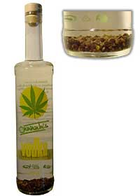 vodka au cannabis